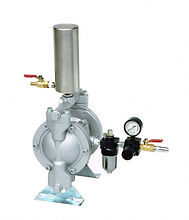 PROFESSIONAL AIR-OPERATED DIAPHRAGM PUMP FOR...