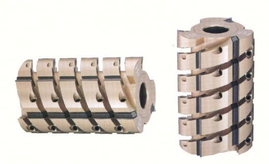 HELICAL PLANING CUTTER