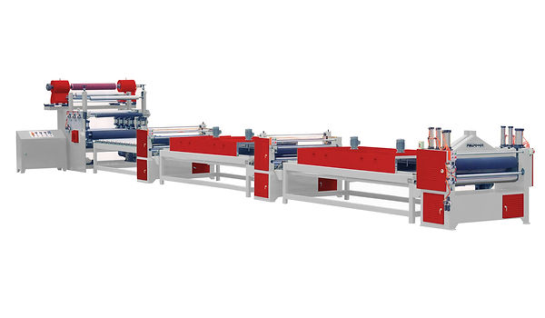 PAPER & PVC LAMINATING MACHINE