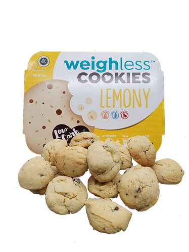 Very Lemony Cookies with Chocolate Chips