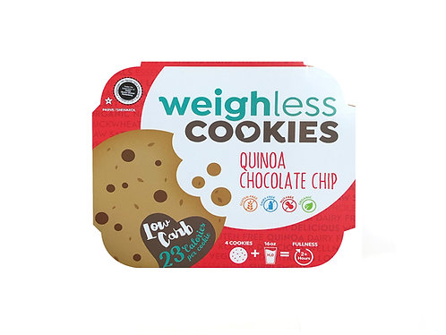 Quinoa Chocolate Chip Weighless™ Cookie