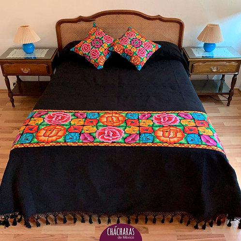 Juego de cama Matrimonial Ocotlán Negro