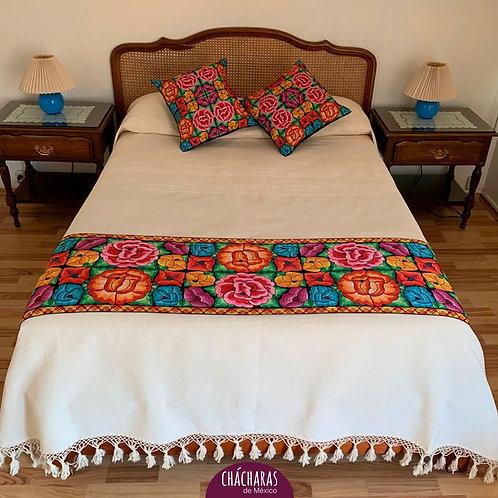 Juego de cama Matrimonial Ocotlán Beige