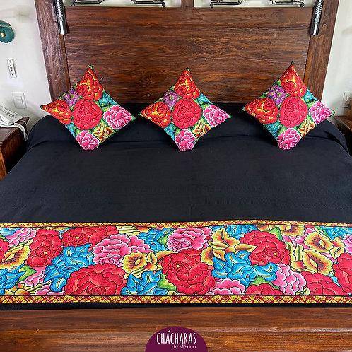 Juego de cama King Size Juchitán Negro