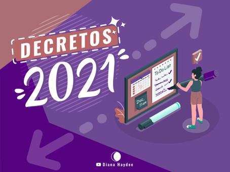 Decretos 2021