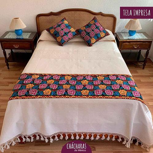 Juego de cama Matrimonial Zimatlán Beige