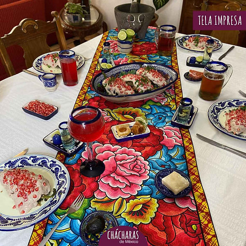 Camino de mesa Juchitán