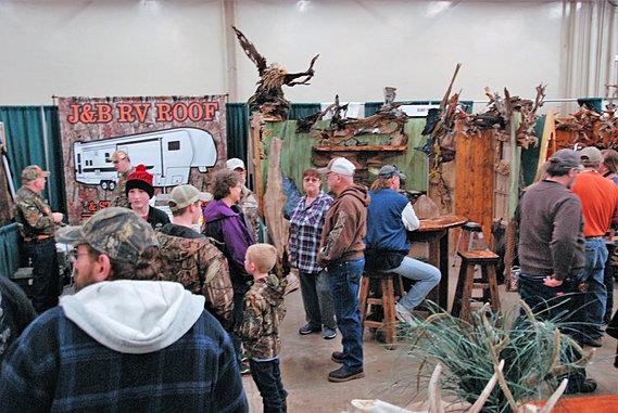 Arkansas big buck classic hunting outdoors expo big for Richards honda little rock arkansas