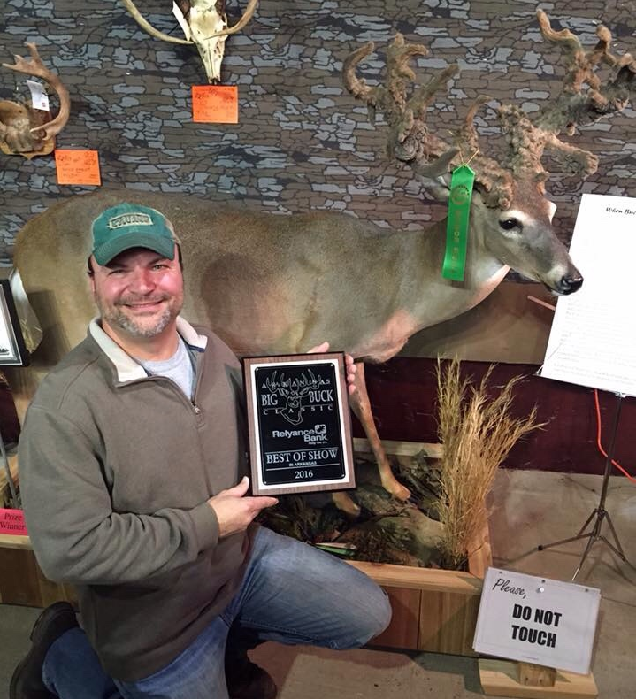 Best of Show Winner of Big Buck Contest