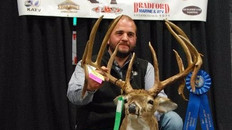 2016 WINNER OF BIG BUCK CONTEST - NEW ARKANSAS STATE RECORD TYPICAL BUCK
