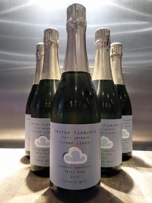 Half Case 6 bottles of 2018 Sparkling Solaris first release