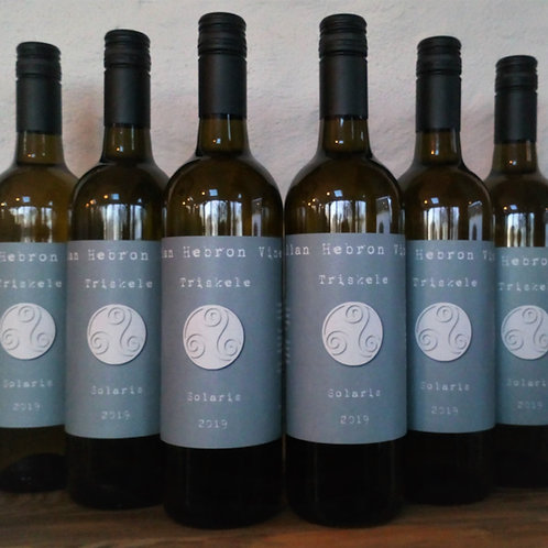 Half Case 6 bottles of 2019 Triskele White Still Solaris wine