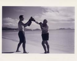 Training on Whitehaven Beach