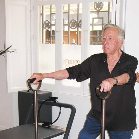 Análisis dos años de Pilates 92 años