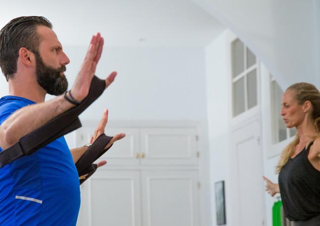 Momento Pilates Clase en el Reformer