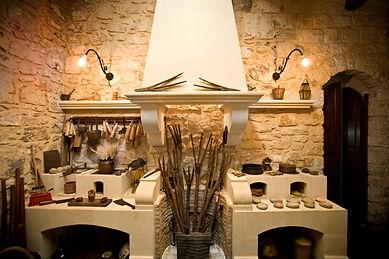 eremo della giubiliana, ristorante e cucina mediterranea