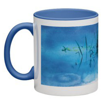 Contemplation Pool Mug