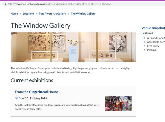 Moreton Bay website page promotion