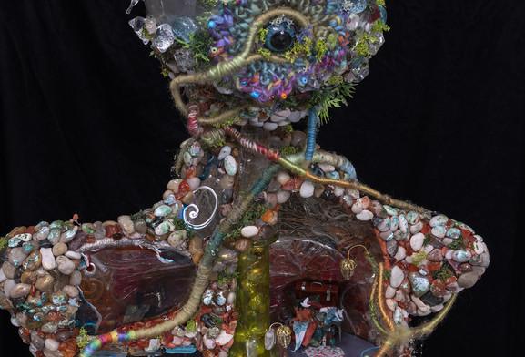 Gaia - Back Detail - Head