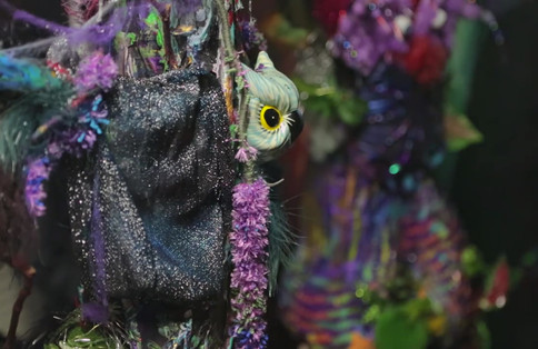 Enchanted Forest - Installation by Ann Russell