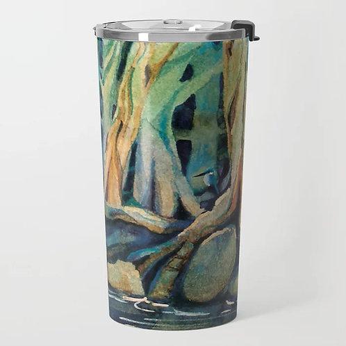 Kingfisher Forest Travel Mug