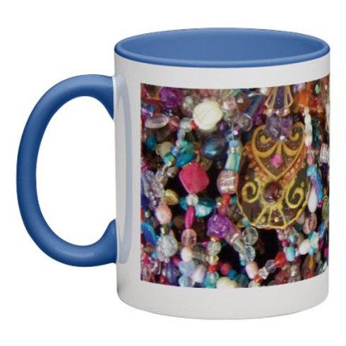 Genesis beads mug