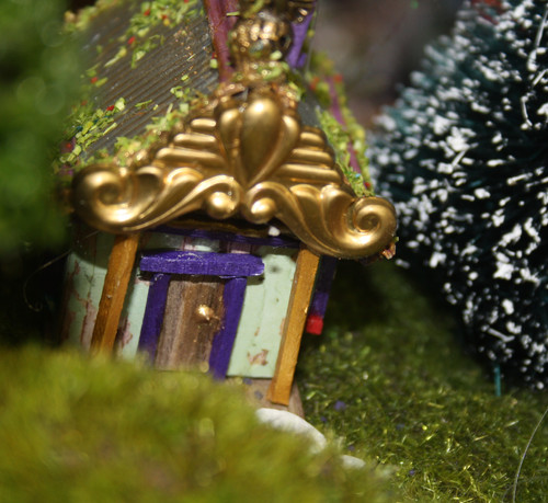 River Herstory - Gingerbread House Detail