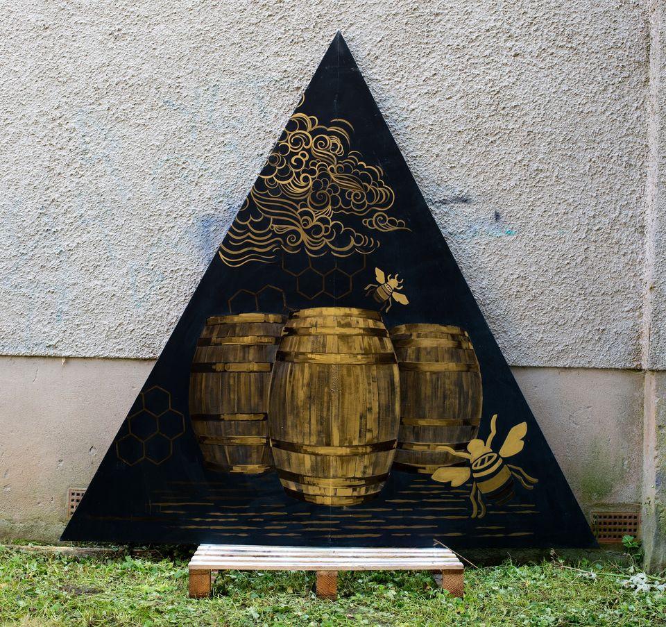 Aberfeldy Whisky. Panel 4. Casks.