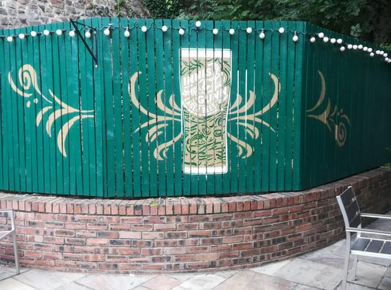 Innis & Gunn . The Beehive beer garden 2020