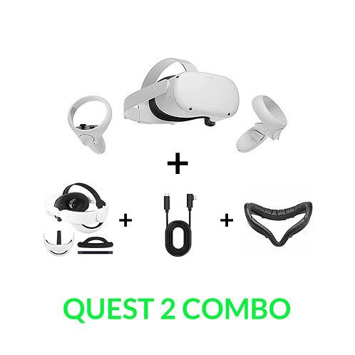 Oculus Quest 2 Mega Combo (Quest 2 + Accessories)