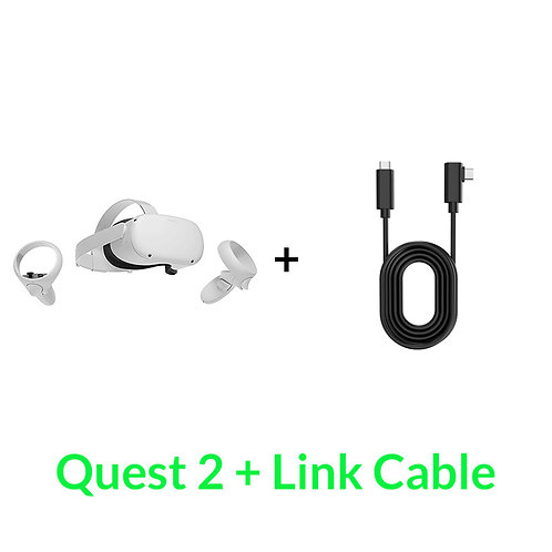 Oculus Quest 2 + Link Cable Combo