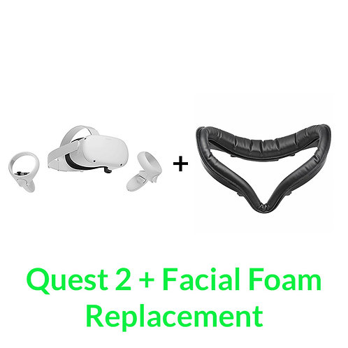 Oculus Quest 2 + Facial Foam Combo