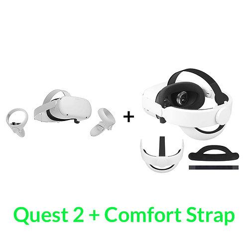 Oculus Quest 2 + Deluxe Strap