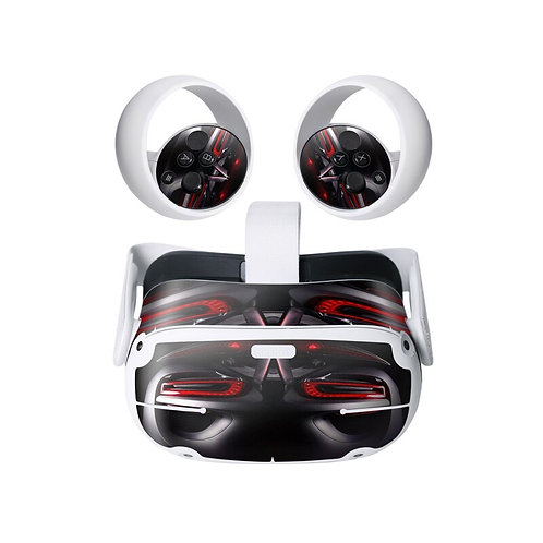 Oculus Quest 2 Decal Skin Stickers  (Racing)
