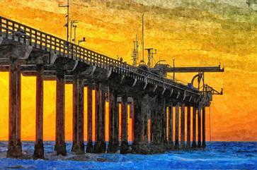Sunset at Scripps Pier in La Jolla.jpg