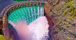 Kerr Dam Montana 14 Open Locks