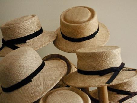 夏の帽子 ベルレッタの受注会 追記