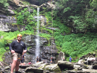 Waterfall Rappelling - Yes, it's cool.