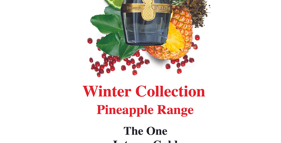 Set 1 - Winter Collection Pineapple Range - Limited Edition Sample Sets