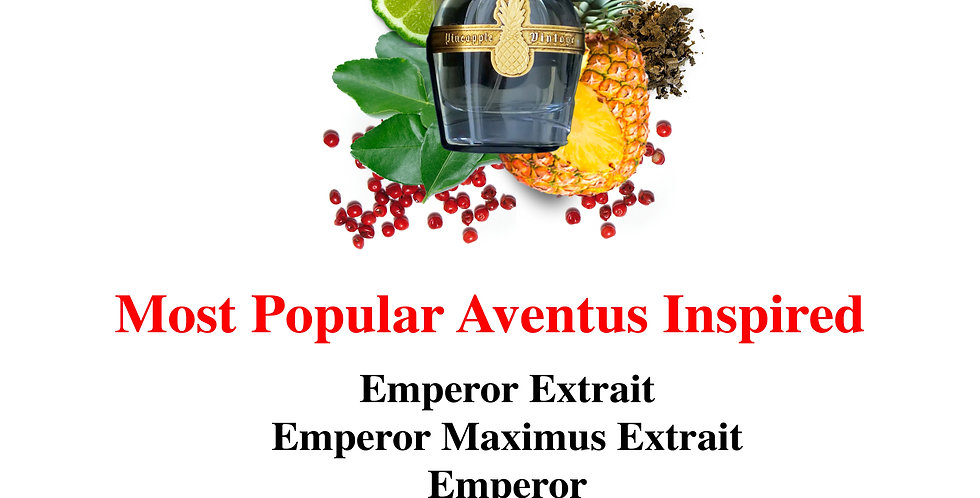 Most Popular Aventus Inspired Limited Edition Sample Sets