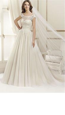 17051T  front agnes dress Bridal Dreams