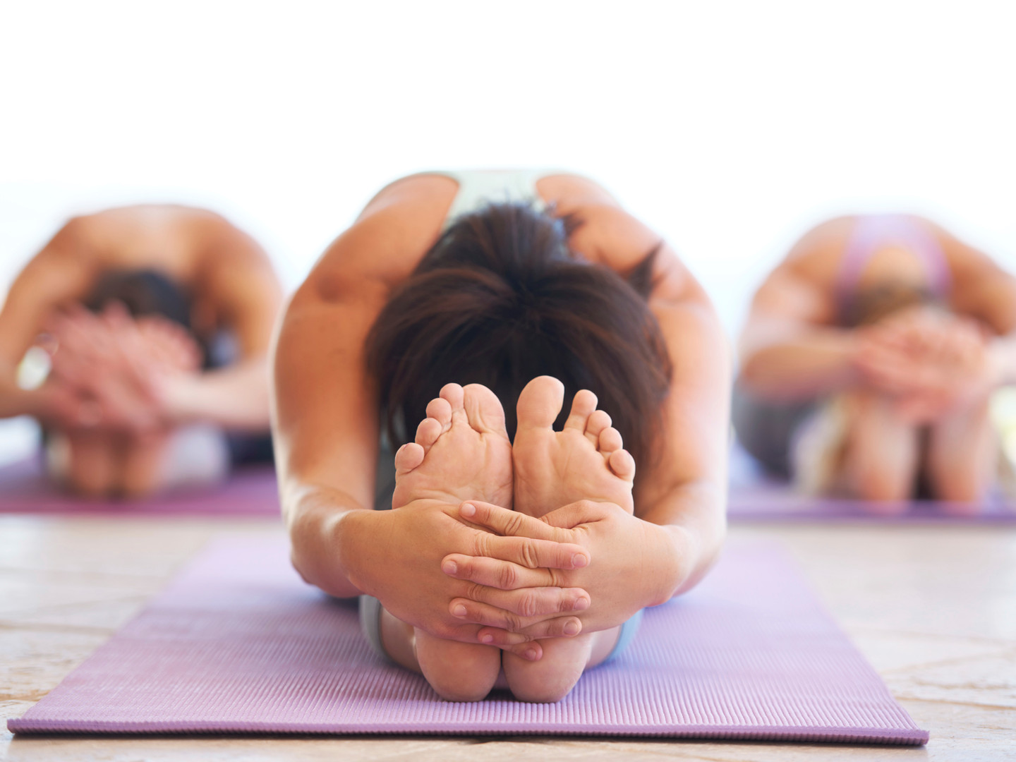 Women Stretching  - yoga
