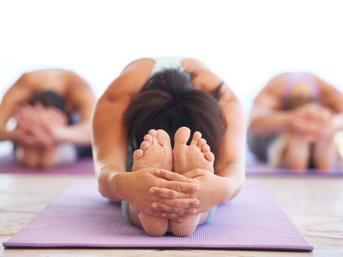 Women Stretching  - yoga