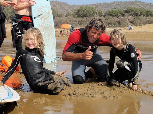 Beginners Family Surf Pack // Aula de Surf Família - Iniciados