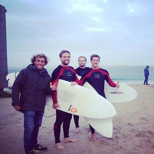 Intermediate Group Surf Lesson // Sessão de Surf Intermédio