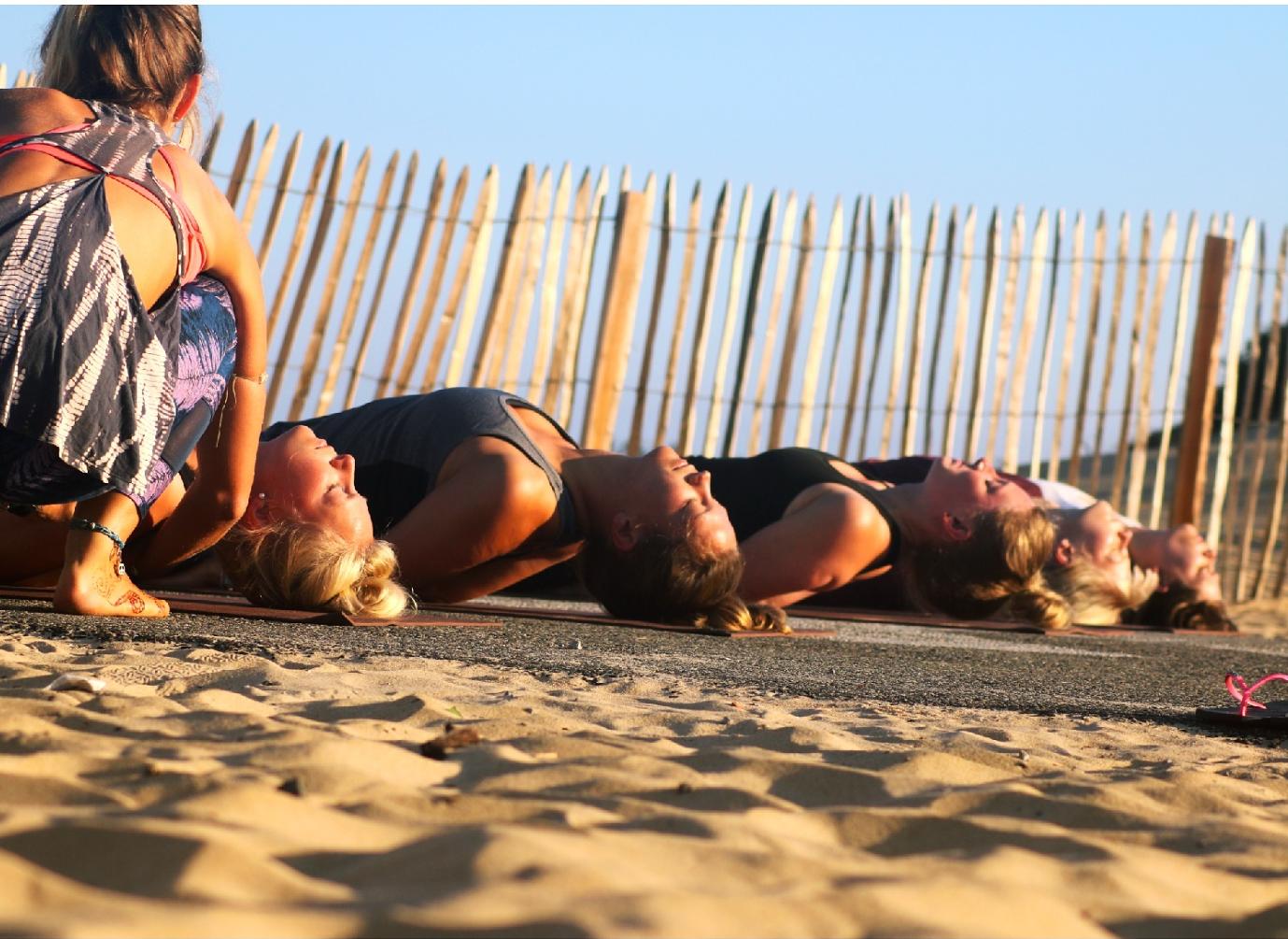 Yoga Class adjustments