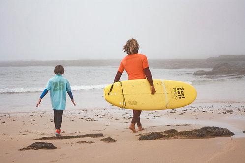 Kids - Private Surf Lesson // Crianças - Aula Privada de Surf
