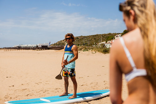 Private Paddle Lesson // Sessão Privada de Surf