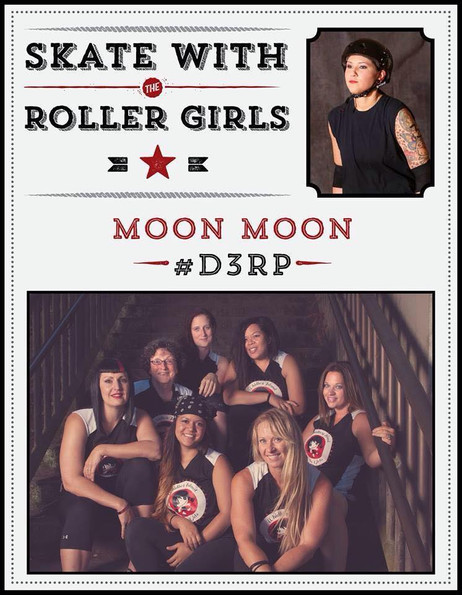Skate with the Roller Girls 4/24/2015