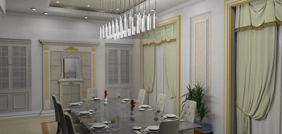 Victorian Family Dining Design